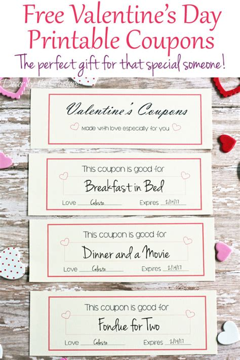 valentines coupons free s day coupons decor by the seashore