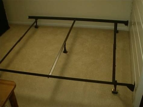 assemble metal bed frame how to assemble a bed frame with pictures ehow