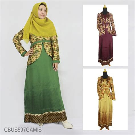 Gamis Smoke Kholifah Motif Abstrak 3 baju batik sarimbit gamis motif katulistiwa gamis batik murah batikunik