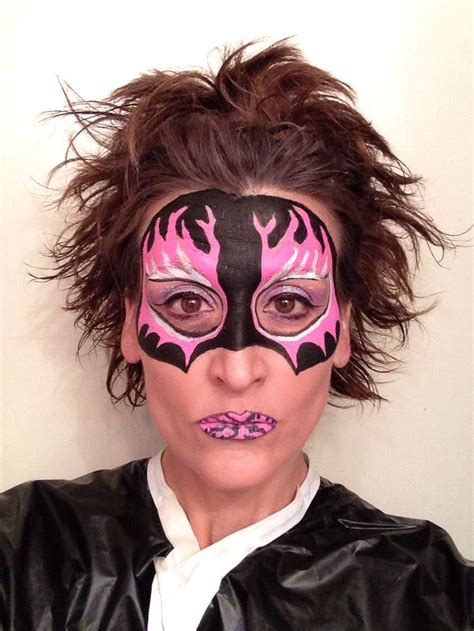 bad mask face and body art by debbie joyce