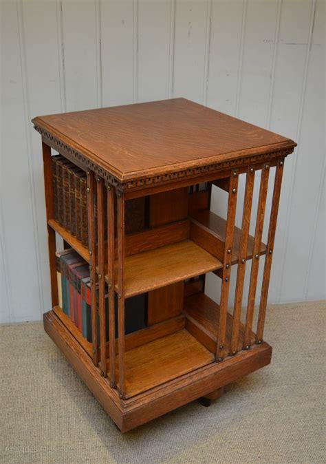 revolving bookshelves oak revolving bookcase antiques atlas