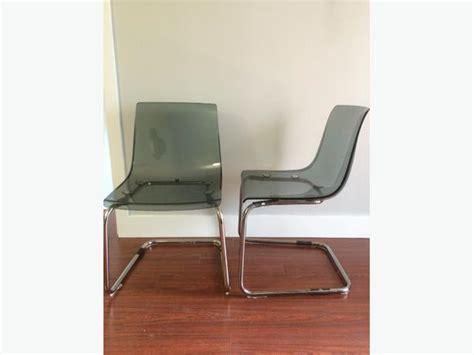 tobias transparent grey chairs downtown toronto toronto