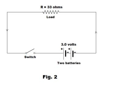 battery diagram positive negative circuits power equivalent resistance in series and