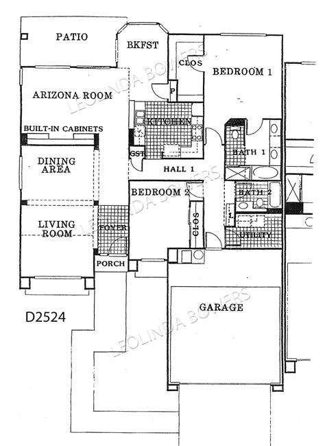 sun city west floor plans sun city west granada 89 floor plan