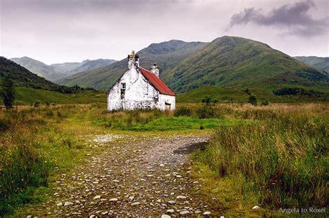 fotografien kaufen glen affric verlassenes cottage in schottland