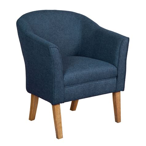 Navy Accent Chair Outdoor