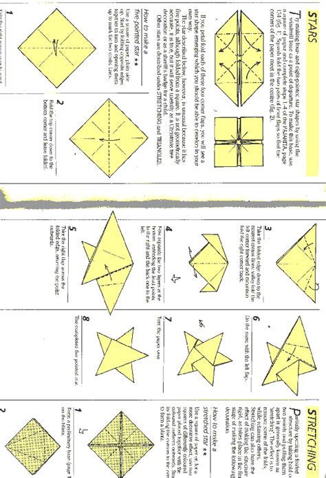 Free Origami Patterns - planetpals free recycle crafts origami patterns ideas