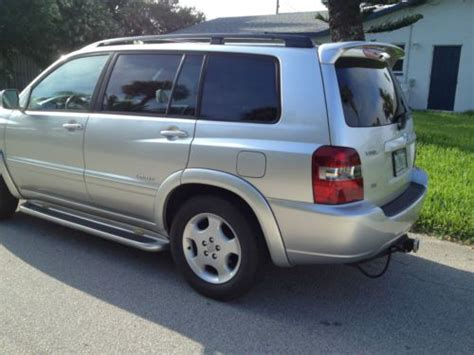 purchase   toyota highlander limited  row seat   miles  fort pierce