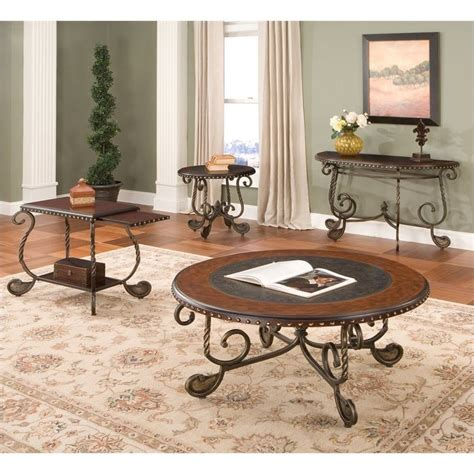 3 piece coffee table sets under 200 steve silver company rosemont 3 piece coffee table set in