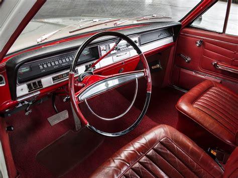Interior Opel Admiral A 1964 68
