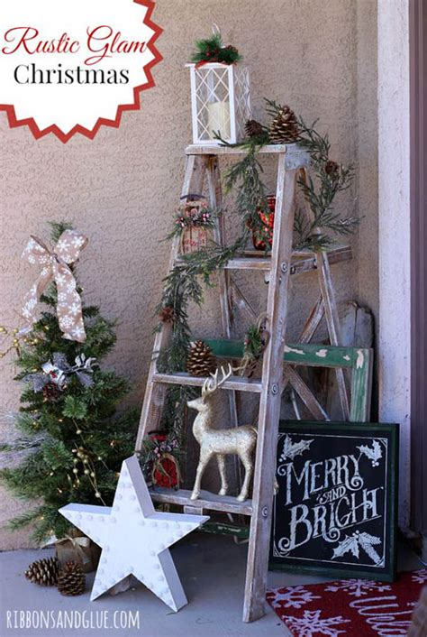 pinterest chriatmas decorating ideas just b cause 45 most pinteresting rustic christmas decorating ideas