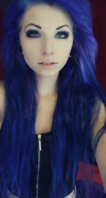 dyed emo hairstyles 1000 images about magical hair colors on pinterest teal