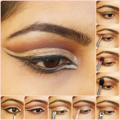 tutorial using netcut cut crease eye makeup tutorial makeup vidalondon