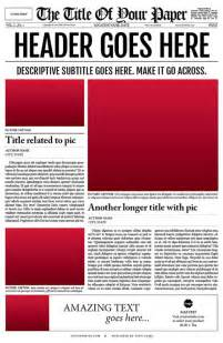 newspaper invitation template free best photos of fill in the blank newspaper layout blank