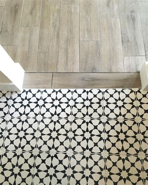 cement tile vanessa matsalla wood to cement tile transition