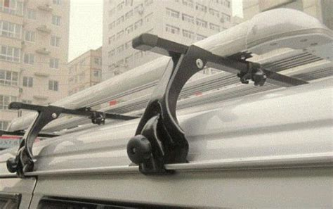 Gutter Roof Rack by Roof Bars With Gutters Racks Rails Pajero Shogun