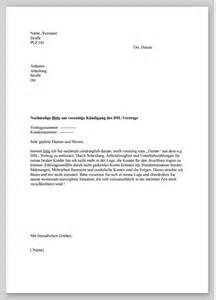 Wohnung Anschreiben Englisch Vorzeitige K 252 Ndigung Dsl Vertrag Muster