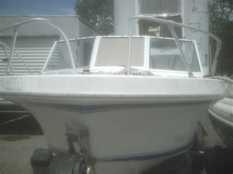 free boats ma gone free 20 ft open fiberglass boat in sound condition