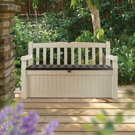 keter eden garden bench keter eden garden bench oede1 289 50 landera outdoor storage and furniture