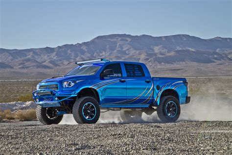 tundra truck project trucks daley visual s bluechrome tundra bds