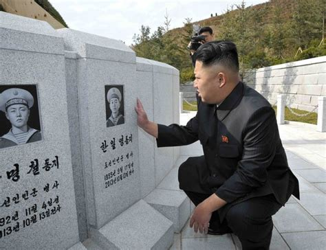 kim jong un biography book dprk confirms loss of warship sailors asia pacific