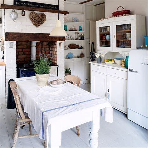 shabby chic country kitchen 7 things you need for a shabby chic kitchen ideal home