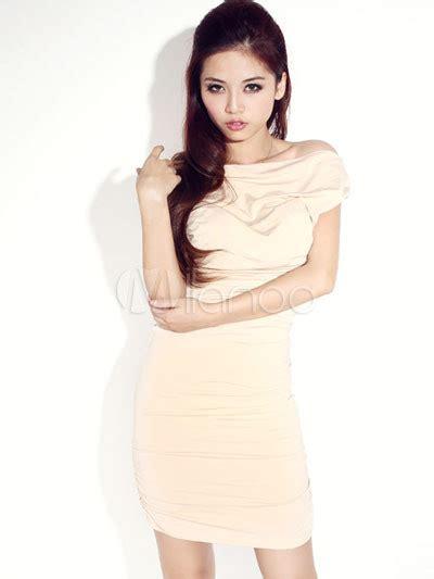Bd 004 Bodycon Dress Attractive White Silk Wadding Backless Club Bodycon Dress
