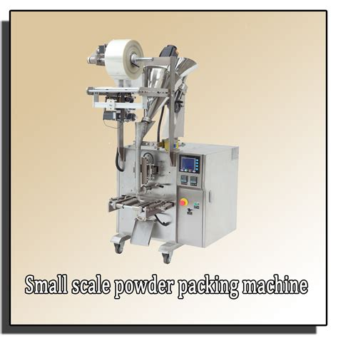 Small Scale Paper Bag Machine - small scale powder pouch packing machine