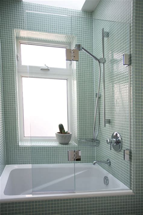 Double Panel Frameless Bathtub Screen Traditional Shower Doors Canada