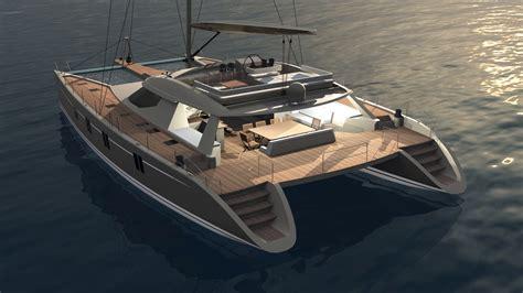 sailing catamaran outboard outboard catamaran plans plan make easy to build boat