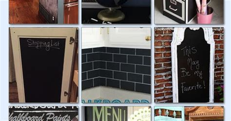 chalkboard paint b and m diy with style tips tricks for using chalkboard paint