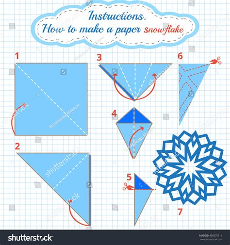 world of paper snowflakes a how to guide and new design templates volume volume 1 books how make paper snowflake tutorial stock