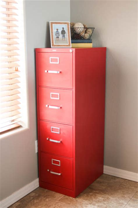 painting metal cabinets thriftyfun file cabinet makeover using chalk paint pretty handy girl