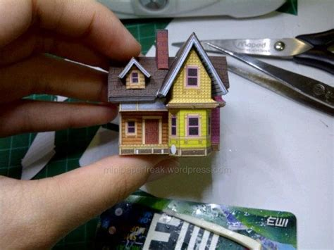 Up House Papercraft - mini carl s house papercraft up minipaperfreak