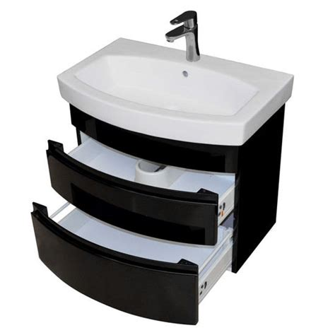 black bathroom drawers royale collection 28 wall hung 2 drawers bathroom vanity