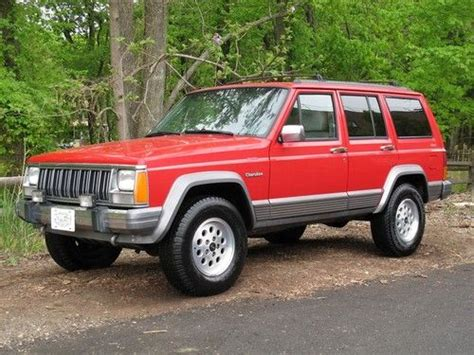 find used 1996 jeep xj country 97 040 original ca jeep in staten island