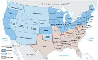 Map Of Union And Confederate States by Home American Civil War Primary Resources Libguides