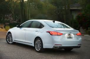 2015 Hyundai Genesis Sedan Price 2015 Hyundai Genesis Sedan Rear Side View Lights On