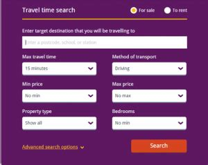 uk property utilize new quot travel time quot search feature