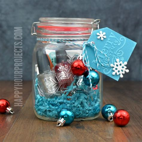 creative ways to give a gift card the mason jar gift