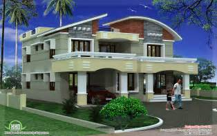 double storey luxury home design kerala house design