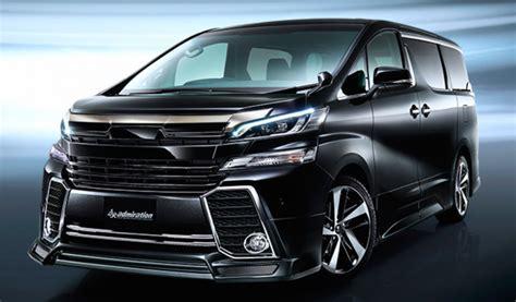 2016 Toyota Alphard 2016 toyota alphard vellfire get modellista kits