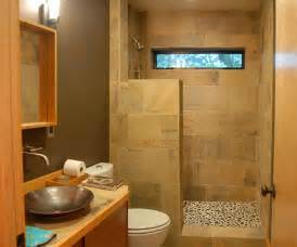 This small bathroom decorating idea is a perfect example of maximizing