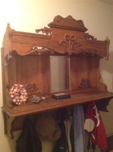 Zaks Attic Furniture Kingsport Tn - repurposing an antique organ hutch into a coat rack