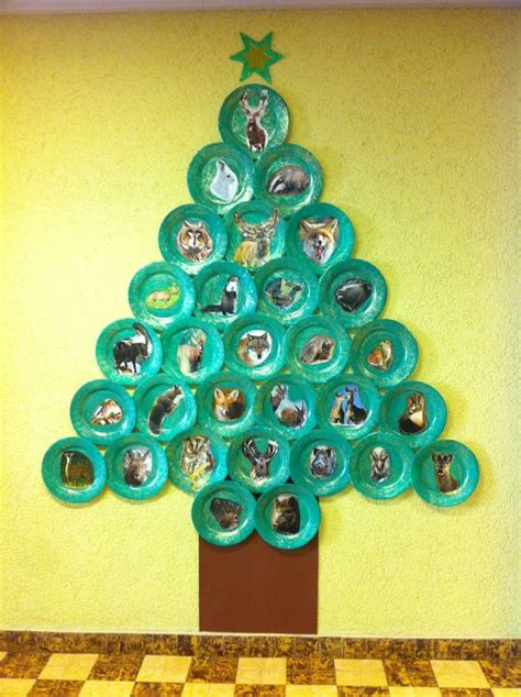 Weihnachten Grundschule Basteln by Pappteller Weihnachtsbaum Bastelideen Weihnachten