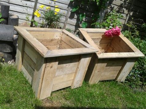 Planters Made Out Of Pallets by Planters Made Out Of Pallets Pallet Creations Uk