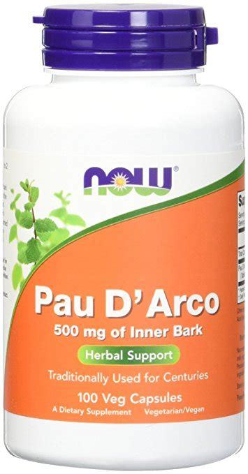 Does Cellfood Detox by 733739047250 Pau D Arco 500 Mg 100 Caps