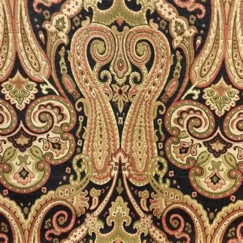 1000 images about paisley home decor fabric on