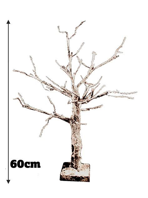 pre lit tree with decorations pre lit twig tree decoration snowy white light