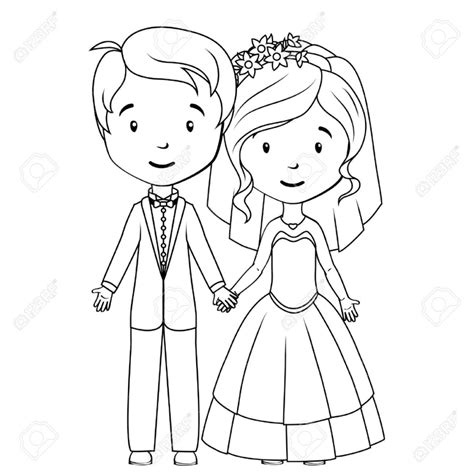 bride and groom coloring pages coloring pages kids
